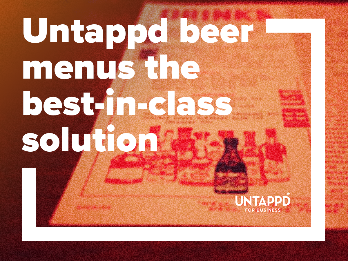 Untappd For Business Ad